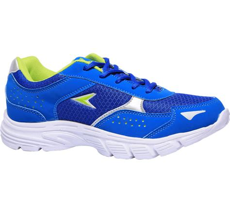 power blue sports shoes for bata india