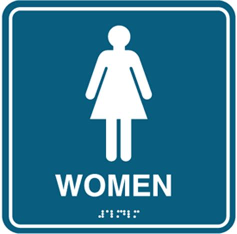 female comfort room signage woman restroom sign clipart best