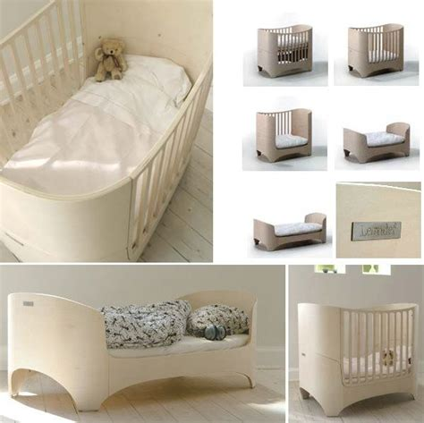 Swedish Baby Cribs by The Healthiest Coolest Modern Oval Shaped Crib Available