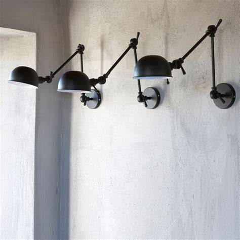 trend industrial wall sconces light your shelves