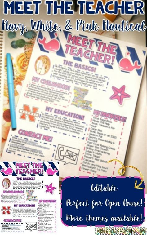 25 Best Ideas About Teacher Newsletter On Pinterest Parent Newsletter Template Parent Meet The Newsletter Templates