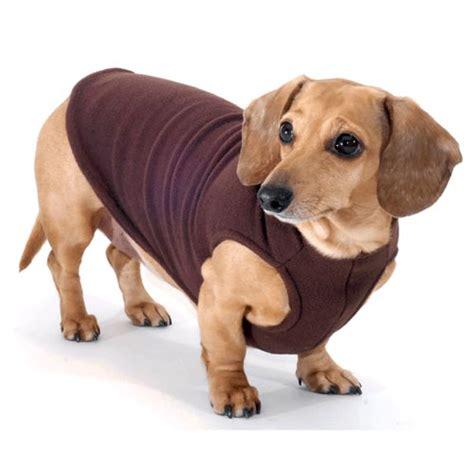 dachshund sweater for chocolate dachshund fleece sweater