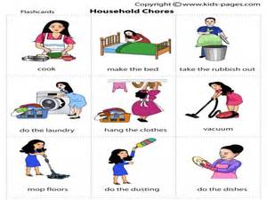 household chores clipart clipartsgram