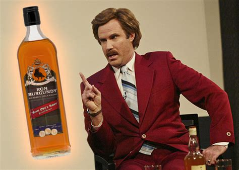 Ron Burgundy Scotch Meme - ron burgundy scotch anchorman 2 branded whisky reviewed