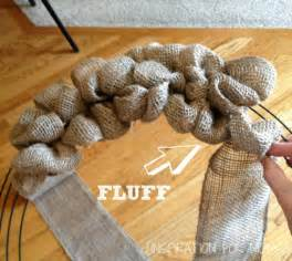 Burlap wreath tutorial mrs hines class diy chevron burlap wreath