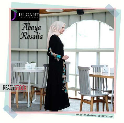 Caq Rosalia Syari Hitam Baju Muslim abaya syar i wa 08127 60 888 06 pusat busana muslim indonesia