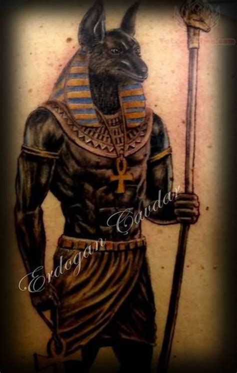 ancient egyptian tattoo designs god tattoos all black anubis god