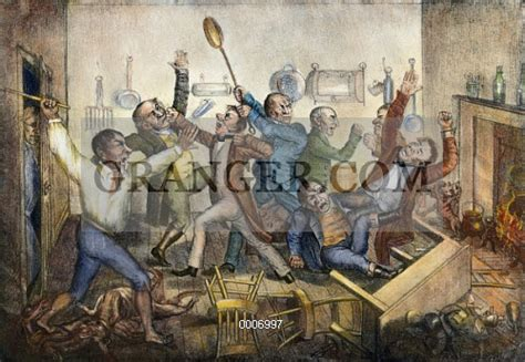 Andrew Jackson Kitchen Cabinet Image Of Andrew Jackson C1833 Major Downing Queling The Riot In The Kitchen Cabinet