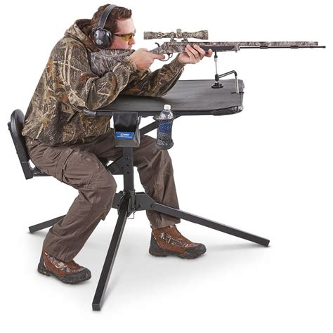 shooting bench reviews the x ecutor 360 shooting bench 637255 shooting rests at sportsman s guide