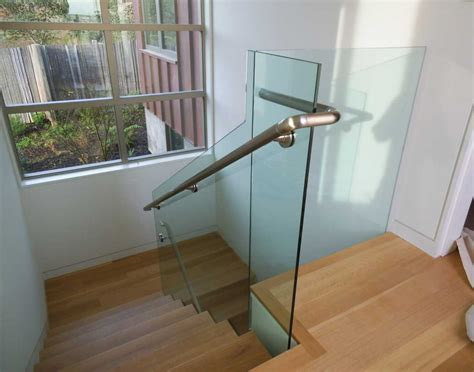 stairs astonishing glass railing cost handrail cost per