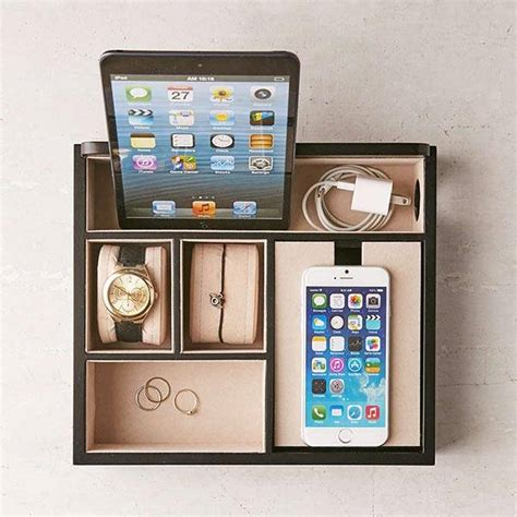 electronic charging station desk organizer mele co rory charging station doubles as desk organizer