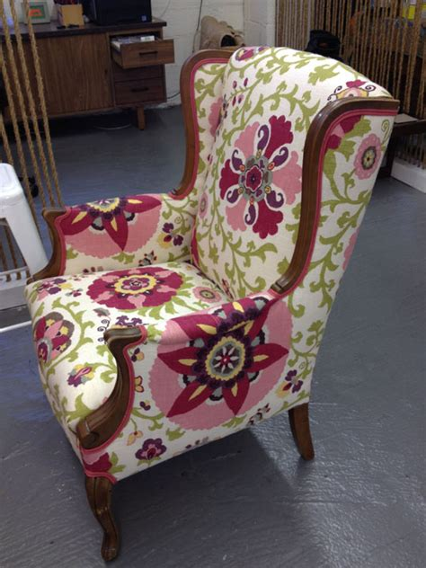 how to upholstery how to de upholster a wingback chair modhomeec