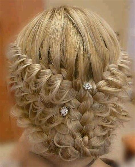 twisted updo hairstyle rockin it pinterest elegant braided hairstyles elegant braid hair styles