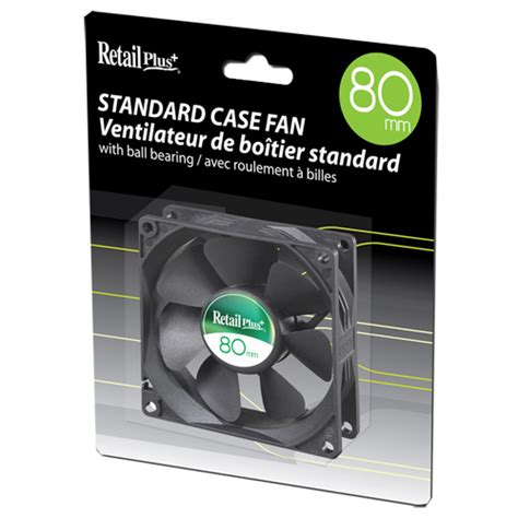 best buy computer fans retail plus 80mm pc case fan computer fans