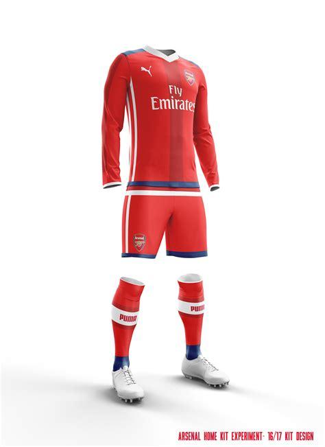 desain jersey mock up football kit designs on behance