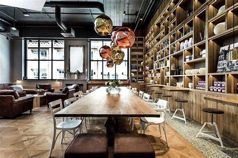 comfortable cafe  industrial style  stuttgart