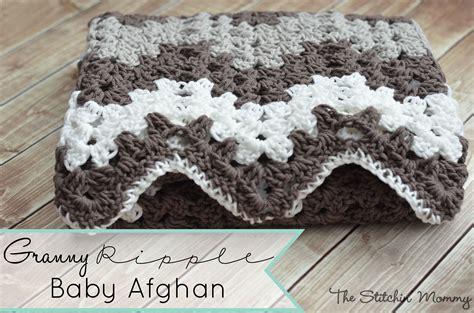 free pattern granny ripple afghan granny ripple blanket the stitchin mommy