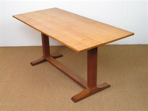 heal s oak refectory dining table antiques atlas