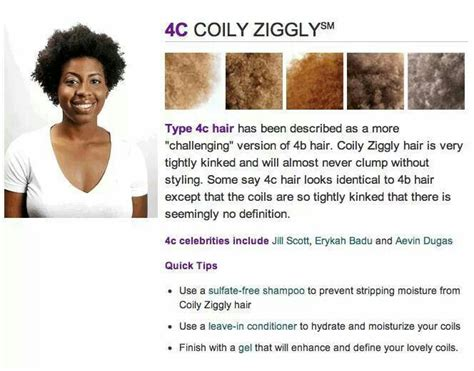 Hair Types 4c by 4c Hair Type Au Naturale