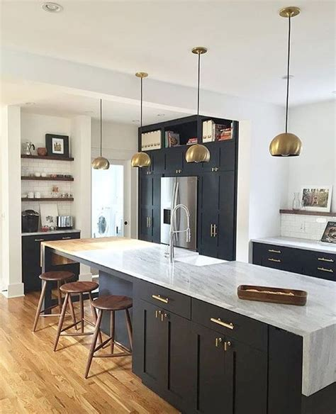 countertops cabinets and black kitchens on