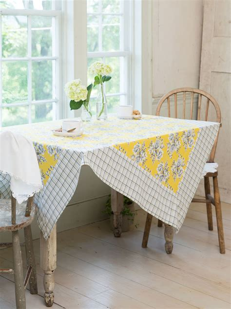 kitchen table linens willa tablecloth linens kitchen tablecloths