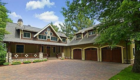 Antebellum Floor Plans a new craftsman style house on gull lake in minnesota