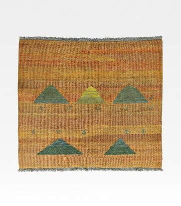 tappeto iraniano tappeto iraniano gabbeh arancione cod 0018 0011