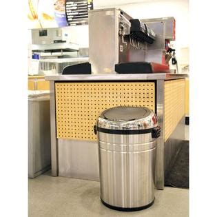 Kitchen Trash Can Sizes by Itouchless Itouchless 23 Gallon Large Commercial Size