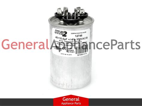 capacitor and air conditioner whirlpool air conditioner capacitor 40 10 uf 370 vac 1180113 1186507 mrp220054 ebay