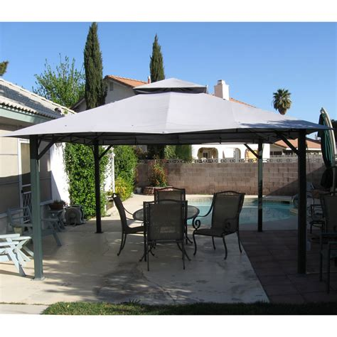 square gazebo replacement canopy  garden winds
