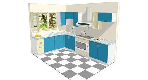 cuisine m騁al et bois decoration vitrine cuisine