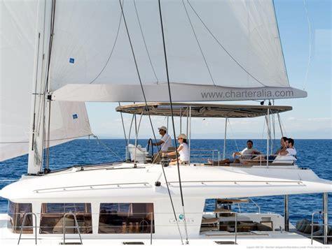 island pilot catamaran luxury lagoon 560 mega catamaran ibiza charteralia boat