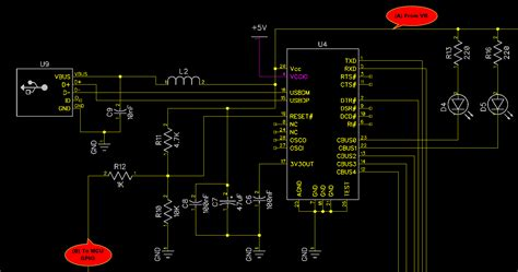 ftdi   usb detection circuit work  expected