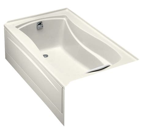 bathtub flange kohler mariposa 5 feet bathtub with integral tile flange