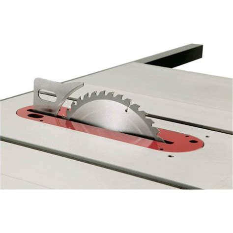 table saw riving knife grizzly g0715p polar series hybrid table saw with