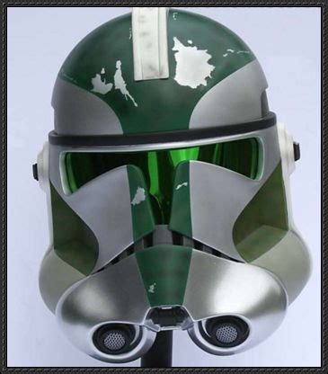 How To Make A Clone Trooper Helmet Out Of Paper - wars green clone trooper helmet papercraft free