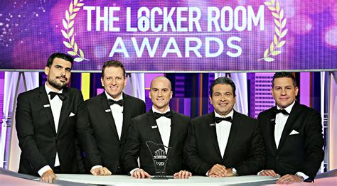 the locker room bein sport cast bein sports locker room awards winners goalnation