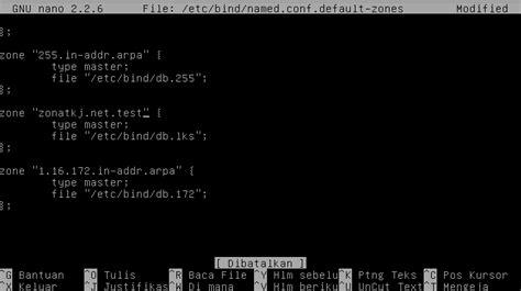 cepat konfigurasi dns server linux debian  jessie