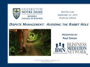 Executive Mba Notre Dame Gmat by Notre Dame Executive Mba Businessmediationnetwork