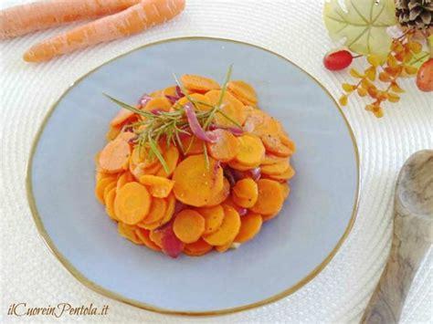 cucinare carote in padella carote in padella ricetta carote in padella ilcuoreinpentola