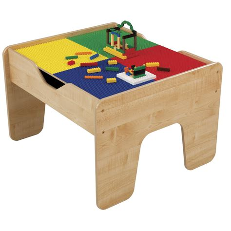 kid craft table kidkraft 2 in 1 lego 174 compatible activity