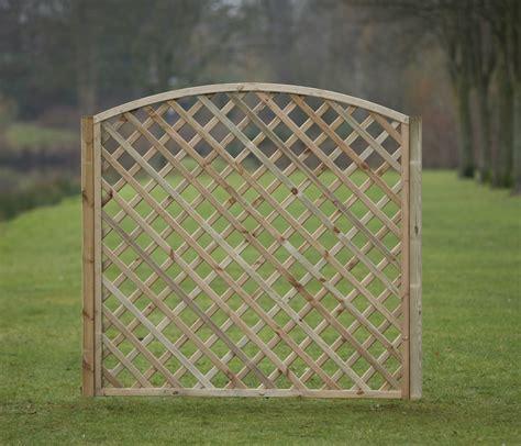 Arched Trellis Panels Arched Framed Diagonal Trellis 180cm