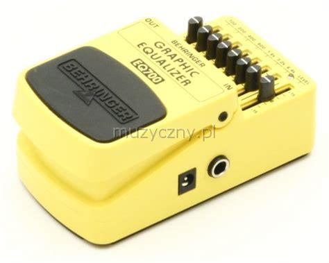 Behringer Efek Eq700 behringer eq700 equalizer guitar effect