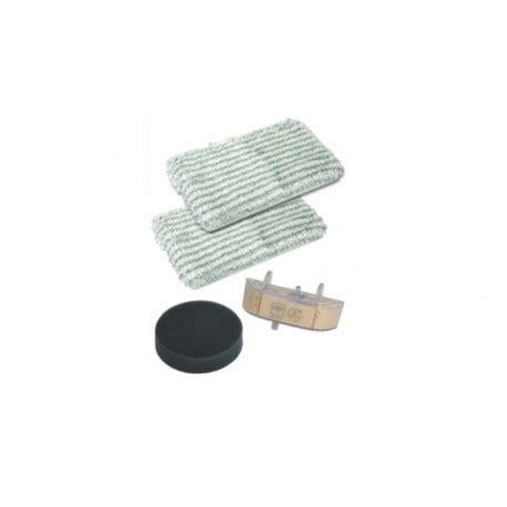 kit de remplacement lingettes x2 cassette filtre pour nettoyeur vapeur clean steam rowenta