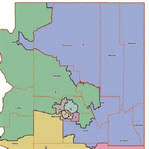 congress arizona map arizona 1st congressional district map and rep in 113th us