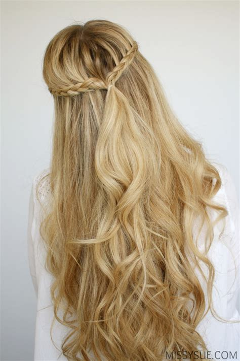 easy half up twist hairstyle with braids for american girl easy braided ponytail hairstyles find hairstyle