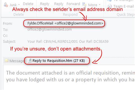 Business Email Address Finder Uk Beware Of Phishing Emails News Stories Gov Uk