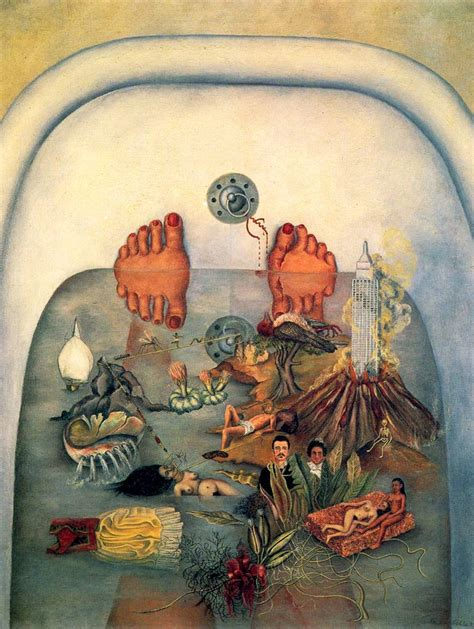 frida kahlo bathtub frida kahlo ospedale henry ford il letto volante 1932