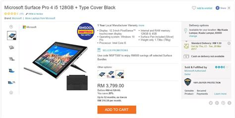 Microsoft Surface Lazada the best deals from lazada s 5th birthday sale lowyat net