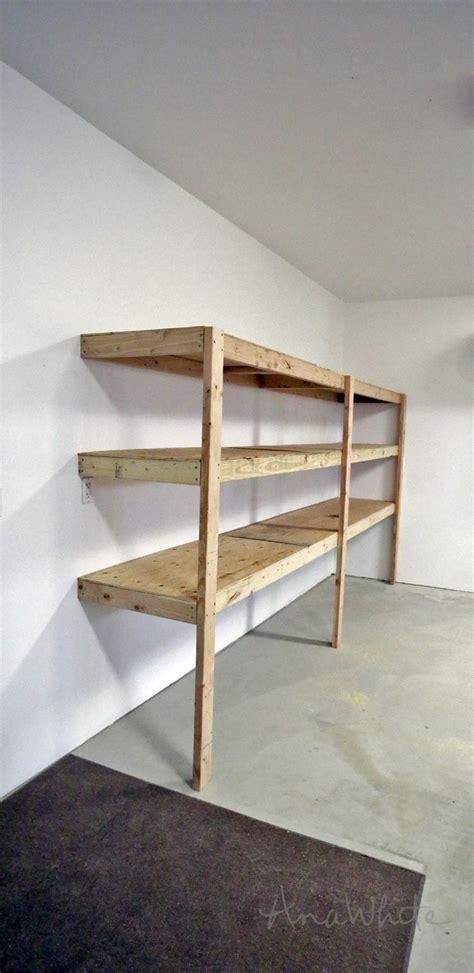 25 best ideas about diy garage shelves on diy